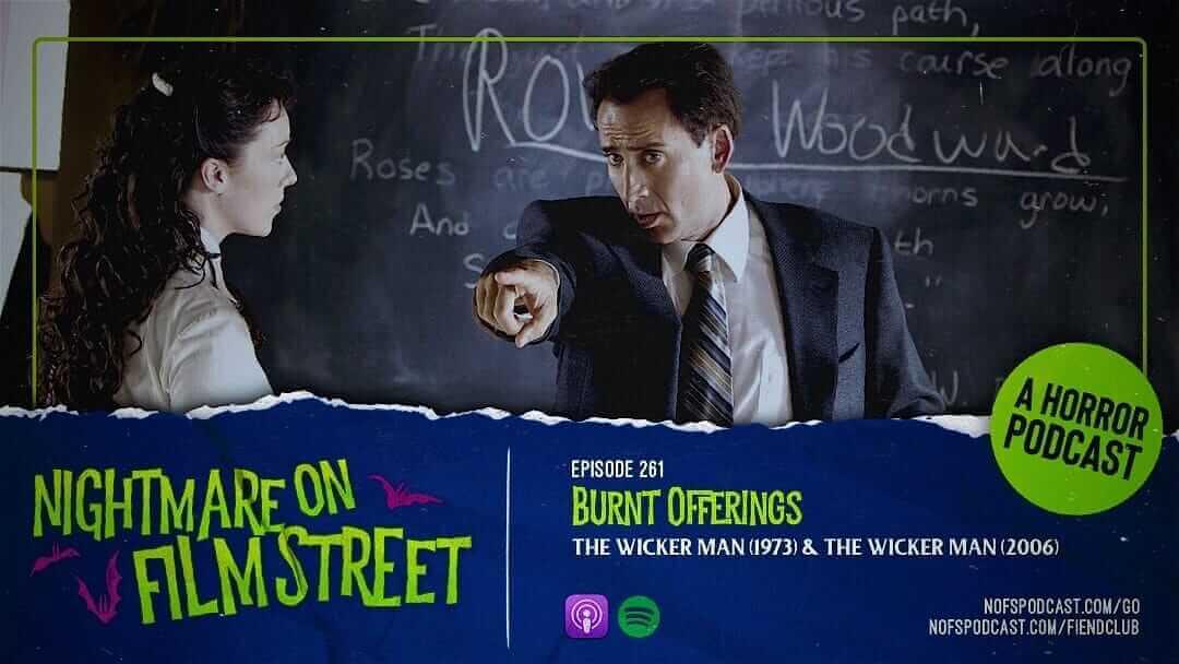 the wicker man horror nightmare on film street podcast movie