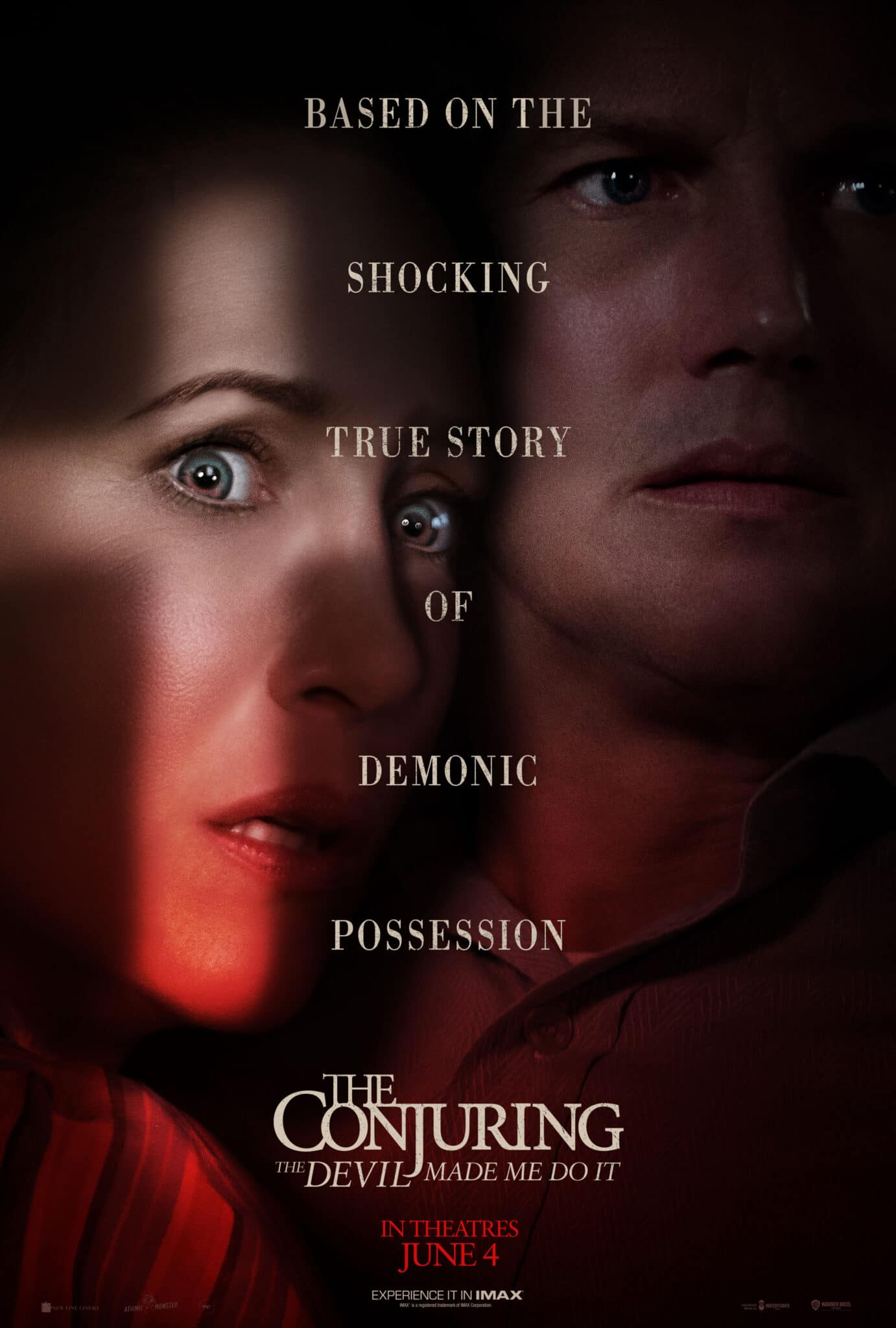 The Conjuring 3 The Devil Made Me Do It - 2021 Poster