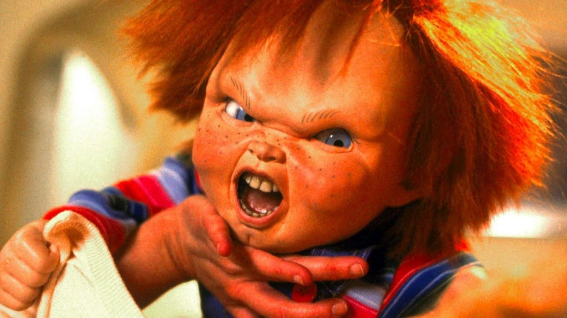child's play 1988 chucky doll mad at mom