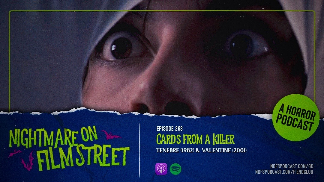 nightmare on film street podcast Cards From A Killer - Tenebre & Valentine 2