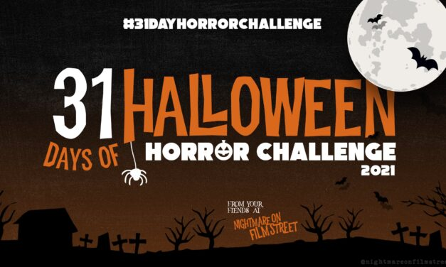 Are You Ready for the #31DAYHORRORCHALLENGE? The Halloween Horror Movie Marathon and Giveaway Kicks Off October 1st!